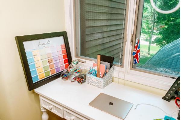 Home Workspace Organization Web